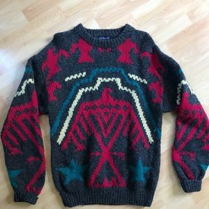 Vintage Giant Men's Shetland Wool Sweater